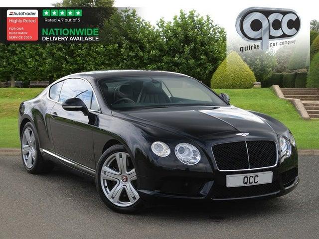 2013 Bentley Continental 4.0 GT V8 (11 reg)