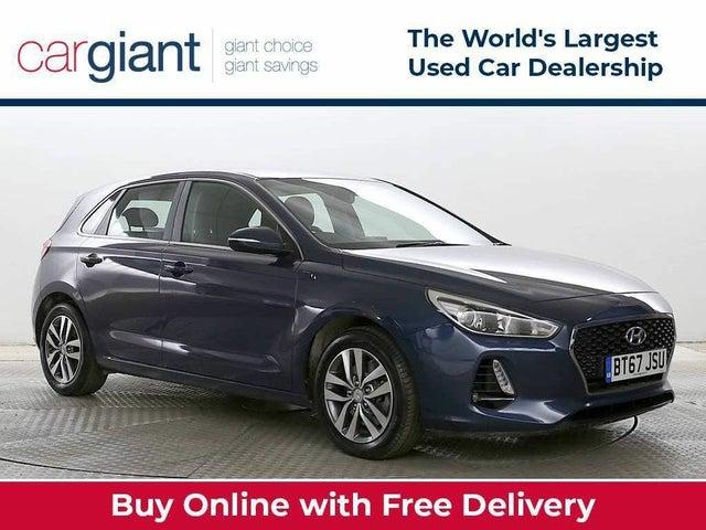 2017 Hyundai i30 1.0 T-GDi SE Nav Blue Drive Hatchback (67 reg)