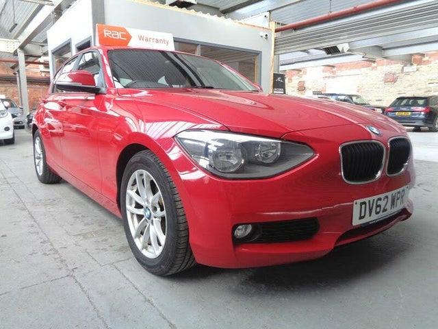 2012 BMW 1 Series 1.6TD 116d EfficientDynamics (62 reg)