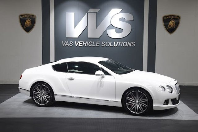 2014 Bentley Continental 6.0 GT Speed 4X4 Coupe (BF reg)