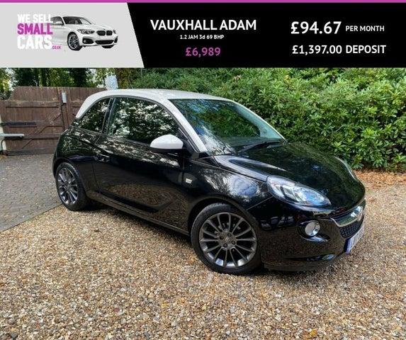 2017 Vauxhall ADAM 1.2i JAM (17 reg)