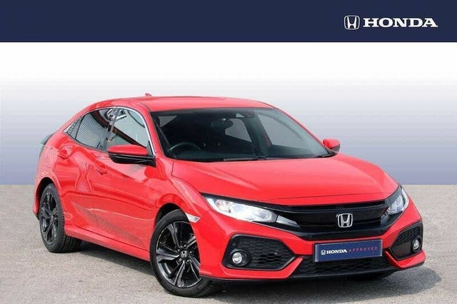 2018 Honda Civic 1.0 VTEC TURBO SR (126ps) Hatchback 5d (HF reg)
