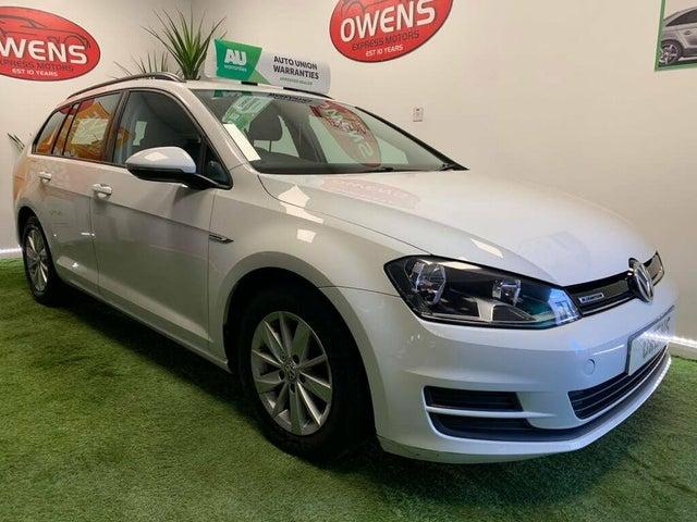 2014 Volkswagen Golf 1.6TDI BLUEMOTION Estate 5d (64 reg)