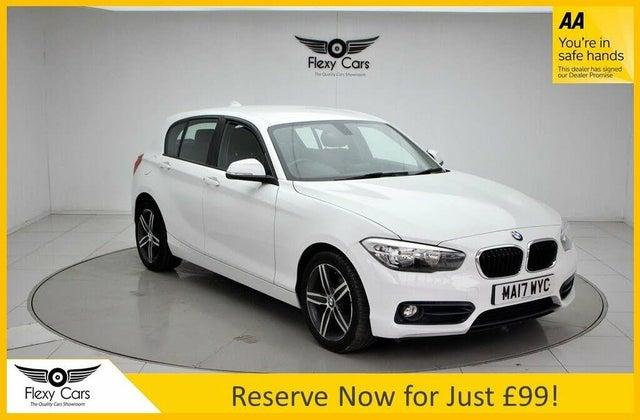 2017 BMW 1 Series 1.5 118i Sport 5d (A1 reg)