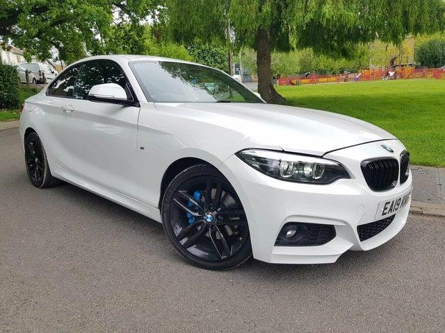 2018 BMW 2 Series 2.0TD 220d M Sport (190bhp) Coupe 2d Auto (19 reg)