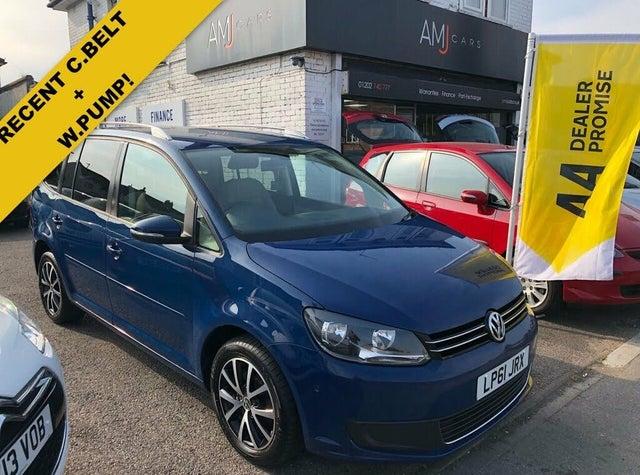 2012 Volkswagen Touran 2.0TD BlueMotion SE (61 reg)