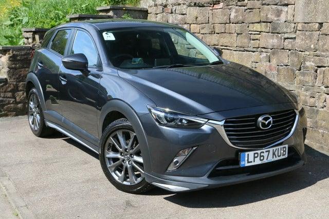 2018 Mazda CX-3 2.0 GT Sport Auto (67 reg)
