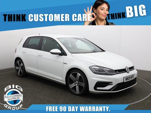 2019 Volkswagen Golf 2.0 TSI R (300ps) Hatchback 5d DSG (19 reg)