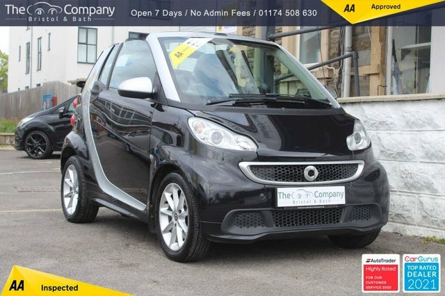 2013 Smart fortwo 1.0 Passion (83bhp) Cabriolet (63 reg)