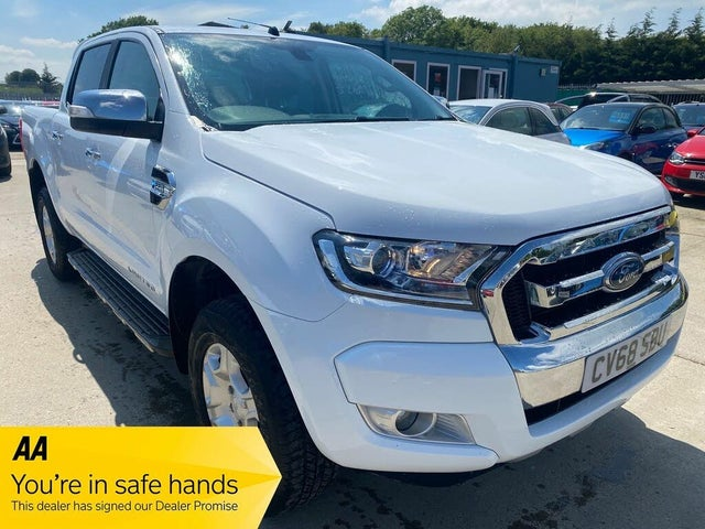 2017 Ford Ranger 2.2TD Limited (160PS) 2 Pickup auto (68 reg)