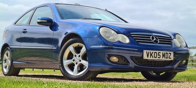 2005 Mercedes-Benz C-Class 2.1TD C220 CDI SE auto (B2 reg)