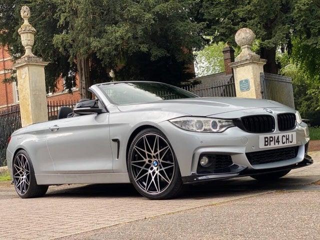 2014 BMW 4 Series 2.0TD 420d Luxury Convertible 2d Auto (14 reg)
