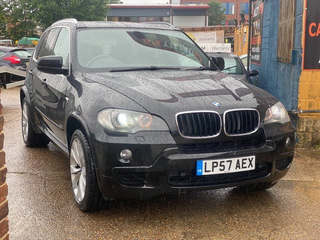 2008 BMW X5 3.0TD M Sport 3.0d (57 reg)