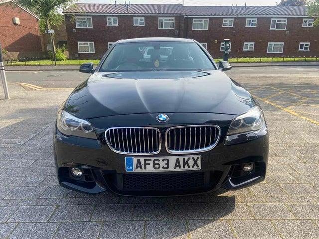 2013 BMW 5 Series 2.0TD 520d M Sport (184bhp) Saloon 4d Auto (63 reg)