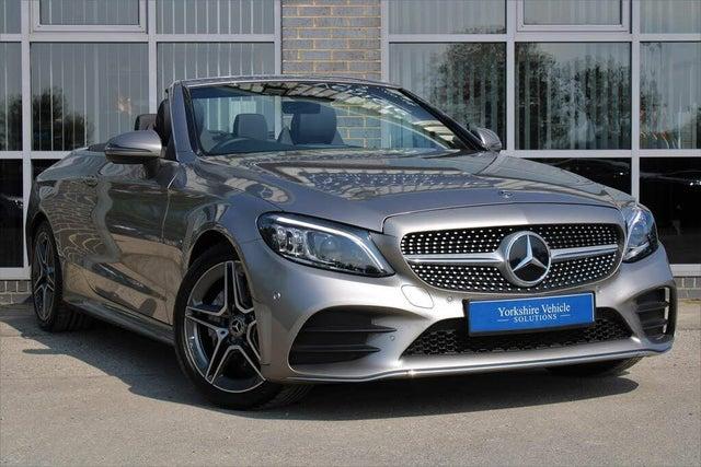 2018 Mercedes-Benz C-Class 2.0d C220d AMG Line (Premium)(s/s) Cabriolet 2d 4MATIC (68 reg)