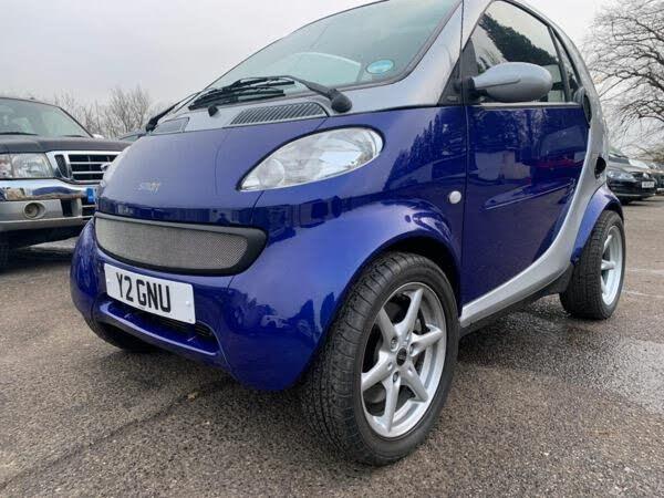 2001 Smart Car Smart 0.6 Passion Convertible 2d 600cc