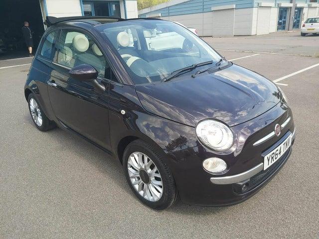 2014 Fiat 500C 0.9 LOUNGE (85bhp) (s/s) (64 reg)