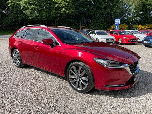 2019 Mazda Mazda6 2.0 SKYACTIV-G Sport (Nav+) Tourer 5d (68 reg)