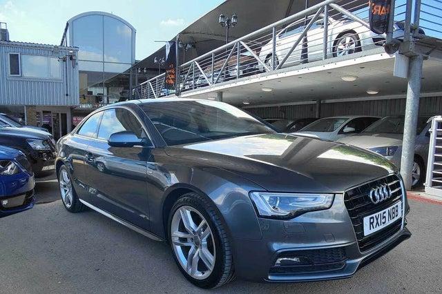2015 Audi A5 2.0TDI S Line (177ps) Coupe 2d (15 reg)