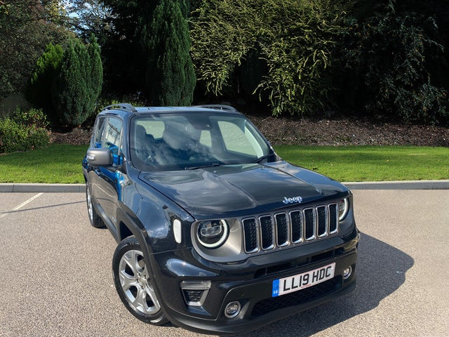 2019 Jeep Renegade 1.3 GSE Limited (19 reg)