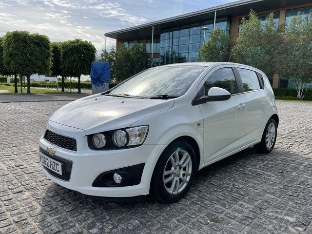 2012 Chevrolet Aveo 1.4 LTZ (99bhp) (62 reg)