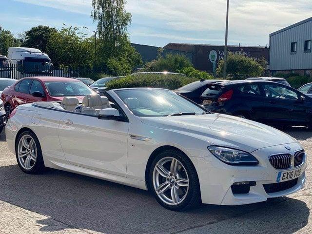 2016 BMW 6 Series 3.0TD 640d M Sport Convertible 2d (A6 reg)