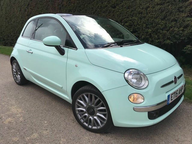 2015 Fiat 500 1.2 LOUNGE (s/s) (15 reg)