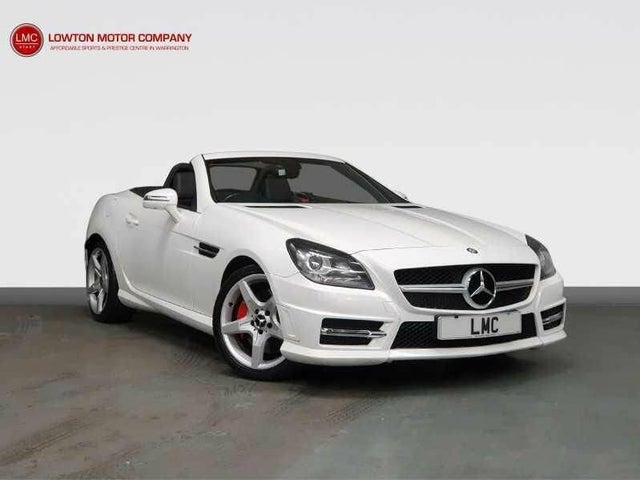 2013 Mercedes-Benz SLK 2.1TD SLK250 AMG Sport (204bhp) Blue F (s/s) (13 reg)