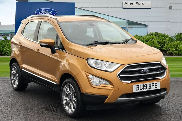 2019 Ford EcoSport 1.5 Titanium (125ps) AWD (s/s) (19 reg)