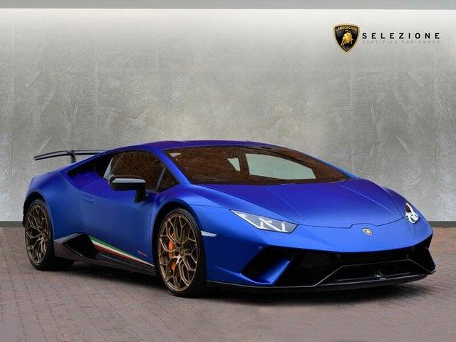 2018 Lamborghini Huracan 5.2 Performante Coupe (68 reg)