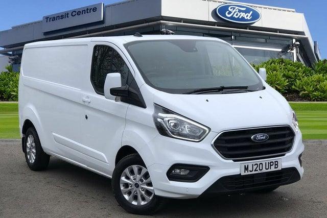 2020 Ford Transit Custom 2.0TDCi 320 L2H1 Limited (170PS)(EU6dT) Panel Van auto (20 reg)