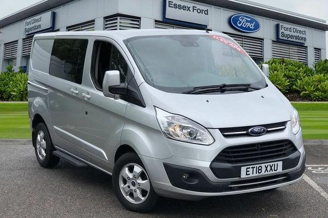 2017 Ford Transit Custom 2.0TDCi 290 L1H1 Limited (170PS)(EU6) Double Cab-in-Van (18 reg)
