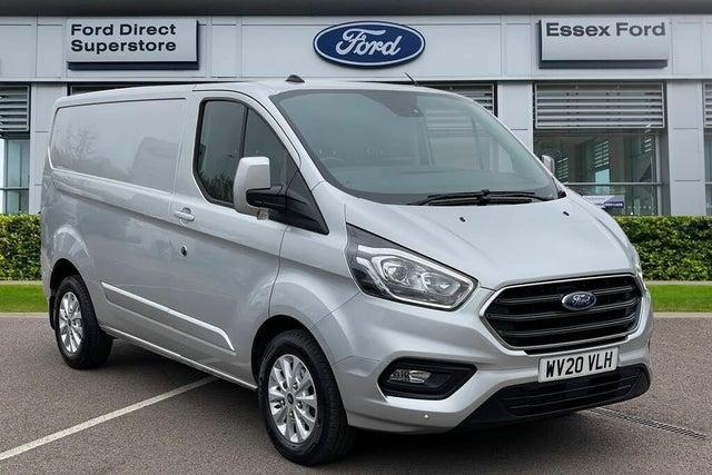 2020 Ford Transit Custom 2.0TDCi 300 L1H1 Limited (130PS)(EU6dT) Panel Van auto (20 reg)
