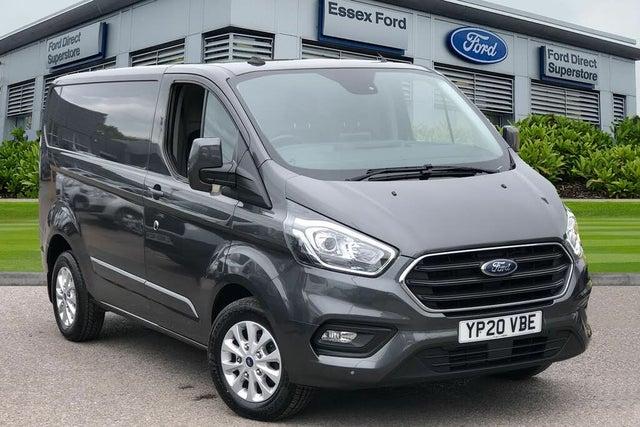 2020 Ford Transit Custom 2.0TDCi 300 L1H1 Limited (170PS)(EU6dT) Panel Van auto (20 reg)