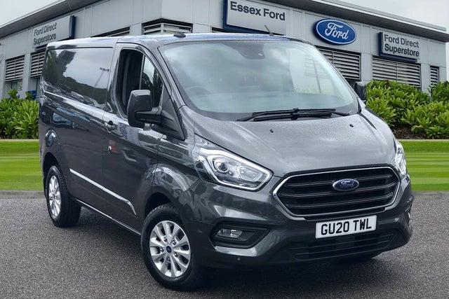 2020 Ford Transit Custom 2.0TDCi 280 L1H1 Limited (130PS)(EU6dT) (20 reg)