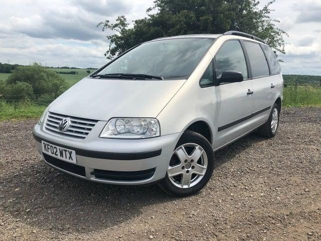 2002 Volkswagen Sharan 1.9TD SL (115bhp) (02 reg)