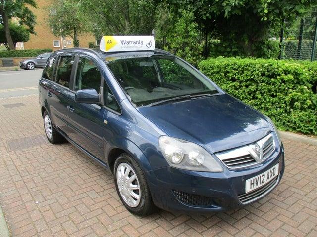 2012 Vauxhall Zafira 1.7TD Exclusiv (110ps) (12 reg)