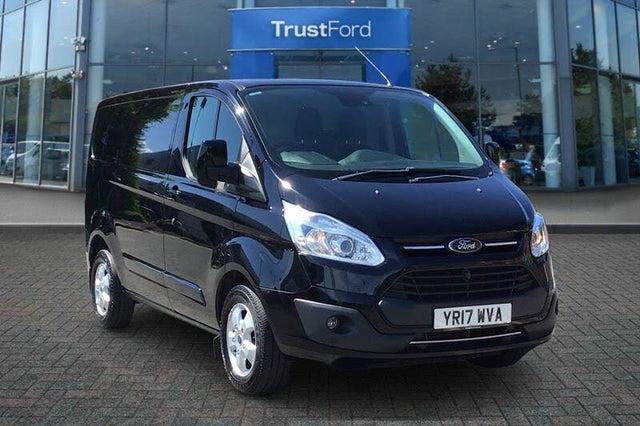 2017 Ford Transit Custom 2.0TDCi 290 L2H1 Limited (130PS)(EU6) Panel Van (17 reg)