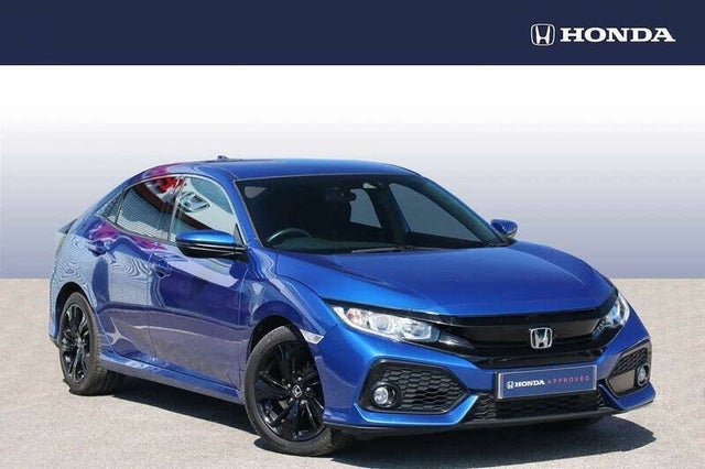 2018 Honda Civic 1.0 VTEC TURBO SR (129ps) Hatchback 5d (HF reg)