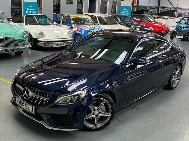 2017 Mercedes-Benz C-Class 2.1d C220d AMG Line (170ps) (Premium)(s/s) Coupe 2d 9G-Tronic Plus (66 reg)