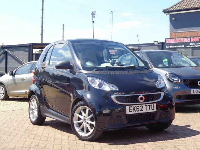 2012 Smart fortwo 1.0 Passion (71bhp) Coupe Softouch (62 reg)