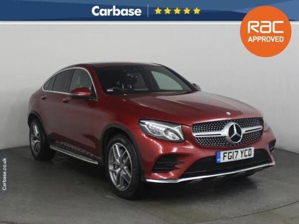 2017 Mercedes-Benz GLC-Class 2.1d GLC220d AMG Line (Premium Plus)(s/s) Coupe 4d (17 reg)