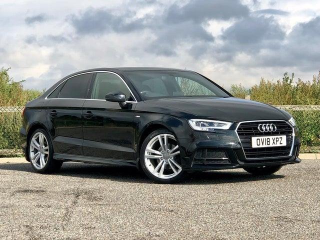 2018 Audi A3 2.0TDI S Line (150ps) Saloon 4d (18 reg)