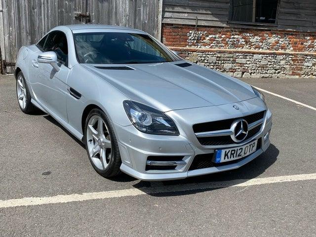 2012 Mercedes-Benz SLK 2.1TD SLK250 AMG Sport (204bhp) BlueEFFICIENCY (s/s) (D1 reg)