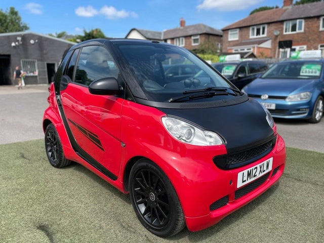 2012 Smart fortwo 0.8TD Passion Cabriolet Softouch (12 reg)