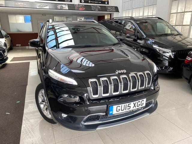 2015 Jeep Cherokee 2.0CRD Limited (170ps) (s/s) Auto (15 reg)