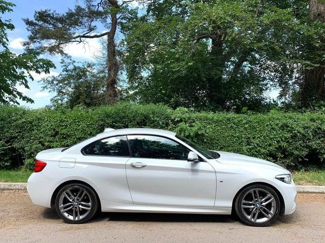 2017 BMW 2 Series 1.5 218i M Sport Coupe 2d Auto (A2 reg)