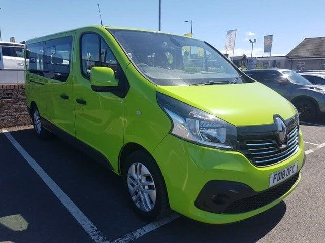2018 Renault Trafic 1.6dCi LL29 125 Sport Nav Energy 125(Eu6) Minibus 9 seats (18 reg)