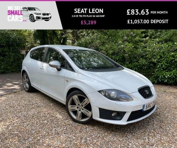 2012 Seat Leon 2.0TD FR+ CR (12 reg)