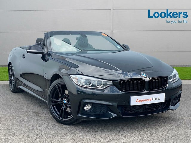 2015 BMW 4 Series 2.0TD 420d M Sport (184bhp) Convertible 2d Auto (15 reg)